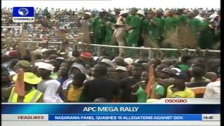 Osun Guber Election: APC Holds Mega Rally Pt.2
