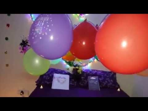 Beautiful home decoration on my first wedding anniversary youtube ditch the ads junglespirit Gallery