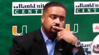 2/13/11 - Coach Haith, Reggie Johnson, Malcolm Grant