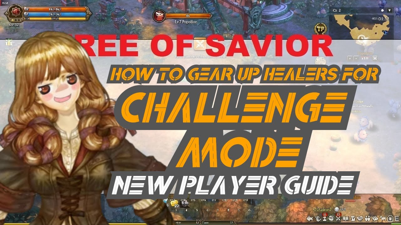 CM Healer Gear Guide For New Players - Tree Of Savior
