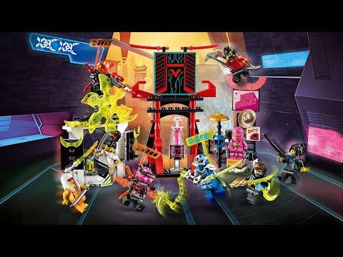 Lego Ninjago Prime Empire: 71708 Gamer's Market Set Review ...
