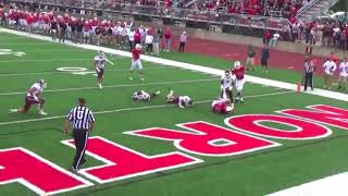 2017 Northwestern Red Raider Football Highlights