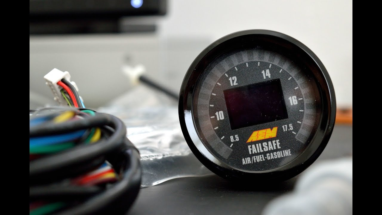 aem afr boost gauge install ep 21 [ 1280 x 720 Pixel ]