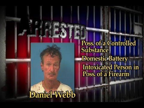 08/22/2017 Nye County Sheriff's Office Arrest | Webb