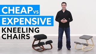 Cheap vs. Expensive Kneeling Chairs: What are the Differences?