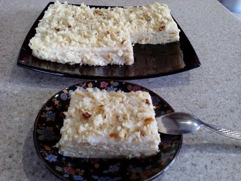 Торт Наполеон из готового слоеного теста Рецепт с фото