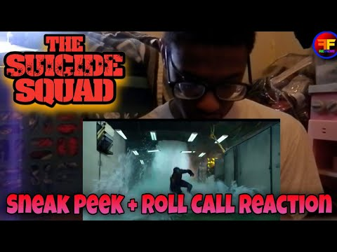 The Suicide Squad (2021) Sneak Peek + Roll Call Reaction | DC Fandome