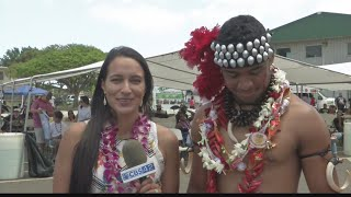 CBS 42's Simone Eli interviews Tua Tagovailoa live in Hawaii