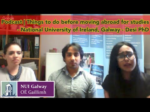 NUIG - 2017 | Live-1 | Pre-departure discussion with International Office and Student Ambassadors