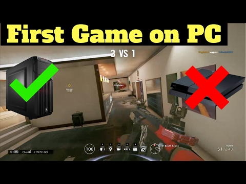 First Game on PC! - Rainbow Six Siege