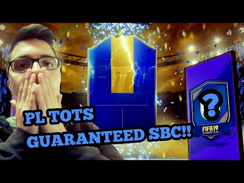 ΚΑΝΟΥΜΕ ΤΟ EPL TOTS GUARANTEED SBC!!! - FIFA 19 GREEK TEAM OF THE SEASON