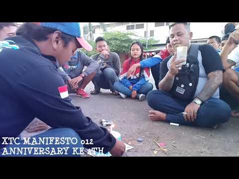 Lagu XTC Indonesia Di Anniversary Manifesto 012 Ke 4th Kondusif