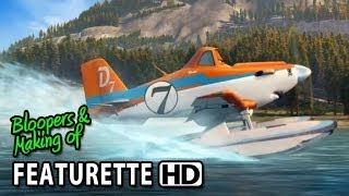 Planes: Fire & Rescue (2014) Featurette - How To Draw Dusty