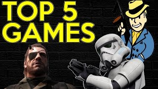 Top 5 Anticipated Games Holiday 2015