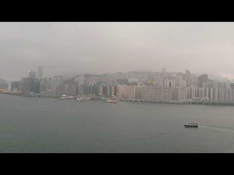 Grand Harbour Kowloon, roof top pool & view March 2019