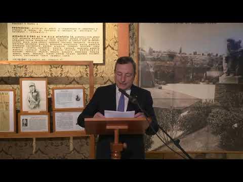 Draghi al museo storico della Liberazione di via Tasso