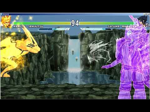 Mugen Naruto Vs Sasuke (Clash Test)