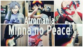 Afromania - Minna no Peace ( Português - Brasil )