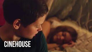 Teen sleeps over a girl's house...