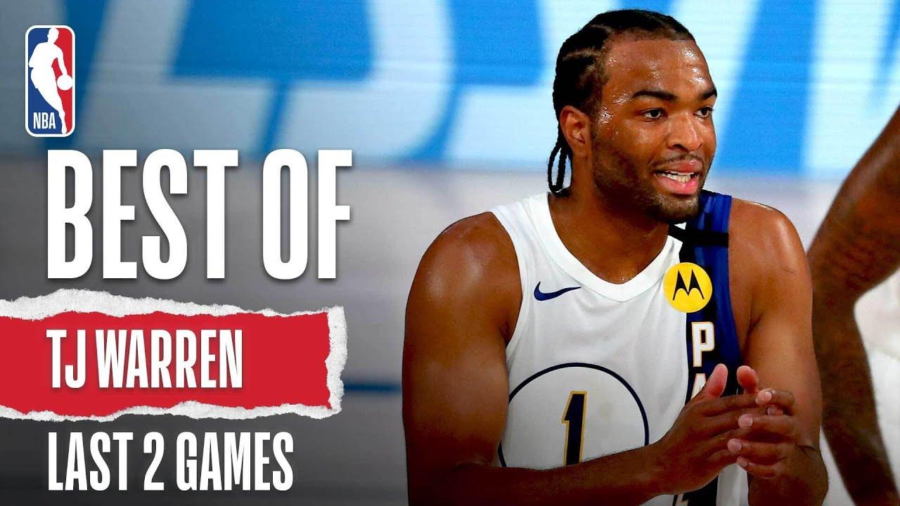 Best Of TJ Warren's Last 2 Games! | NBA Restart
