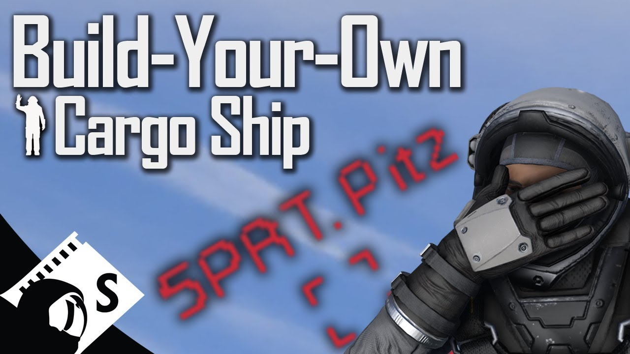 Space Engineers Tutorial: Build Your Own NPC Cargo Ship (How to add your  own cargo ships on planets)