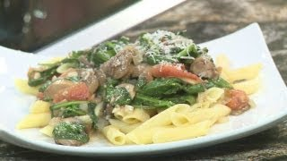 Joe's Pasta House Makes Penne Florentine