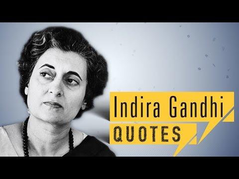 Indira Gandhi QUOTES | quick up QUOTES