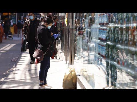 100 тысяч больных в Нью-Йорке | АМЕРИКА | 03.04.20