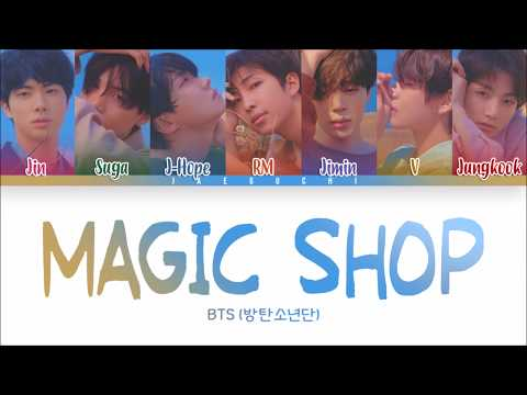BTS (방탄소년단) - MAGIC SHOP (Color Coded Lyrics Eng/Rom/Han)