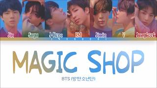 Baixar BTS (방탄소년단) - MAGIC SHOP (Color Coded Lyrics Eng/Rom/Han)