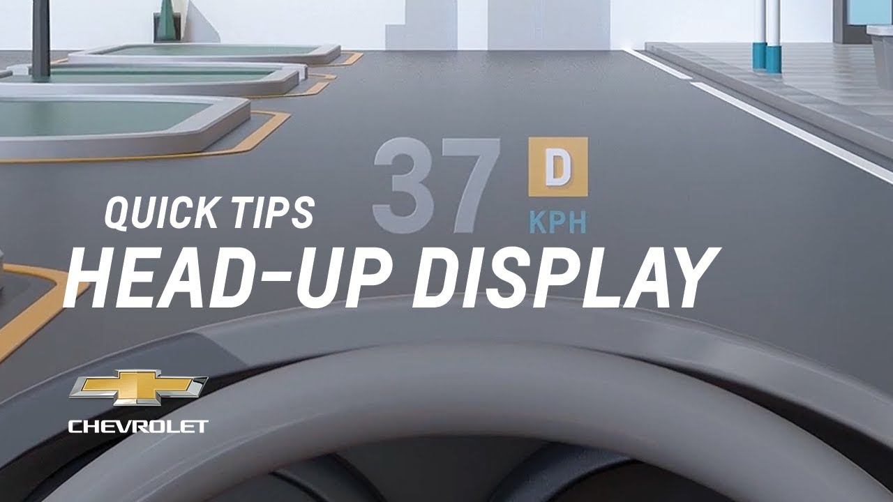 Quick Tips: What Does The Head-Up Display Show Me ...