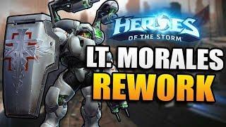 Lt. Morales Rework // Heroes of the Storm PTR