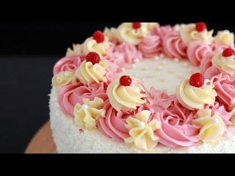 Tort malinowo-porzeczkowy 💗