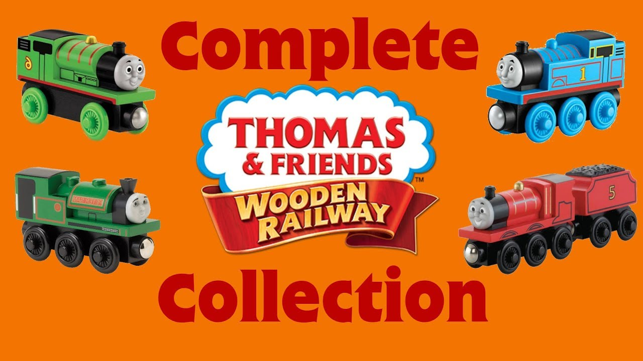 Complete Thomas Wooden Railway Collection 2018 Edition
