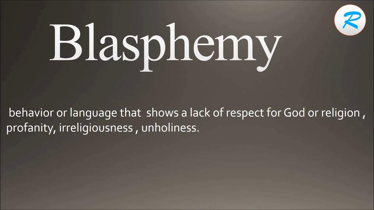 how to pronounce blasphemy ; blasphemy pronunciation ; blasphemy