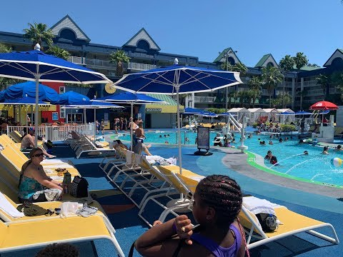 Holiday inn Resort Orlando Suites.. Nickelodeon Water Park in 4k iPhone XR