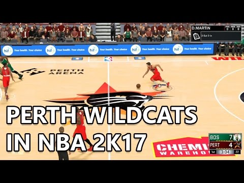 Perth Wildcats in NBA 2K17