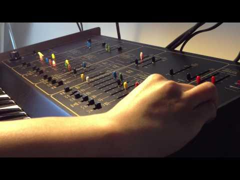 Arp Odyssey Synthesizer S&H Modulation Demo