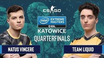 CS:GO - Natus Vincere vs. Team Liquid [Dust2] Map 1 - Quarterfinals - IEM Katowice 2020