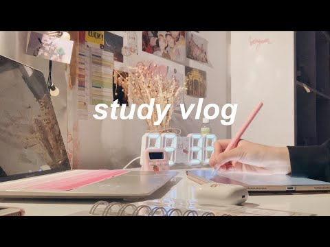 life of a medical student taking online classes // study vlog 📚