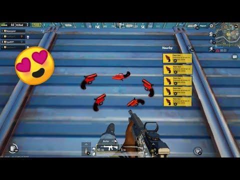 🤣OMG FLARE GUN KI BARISH II PUBG MOBILE FUNNY MOMENT