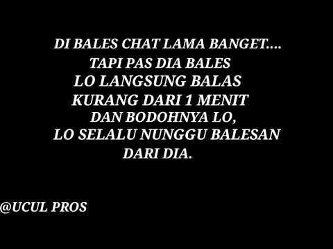 Story Wa Di Balas Chat Lama