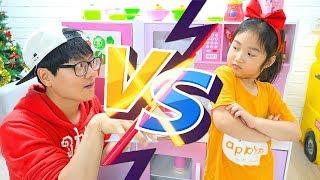 Boram e Conan fazem sobremesas para os amigos