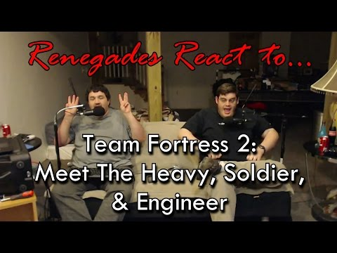 Renegades React to... Team Fortress 2: Meet the Heavy, Soldi