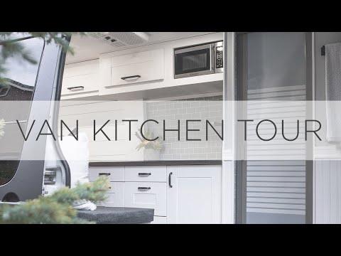 diy-sprinter-van-kitchen-tour-|-farmhouse,-sink,-microwave,-fridge,-stovetop