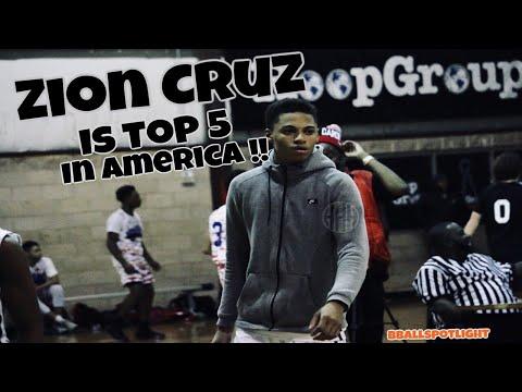 Class Of 2022 G Zion Cruz Is Top 5 In America 🇺🇸 - Bballspotlight Tip Off Classic 2017 🏀