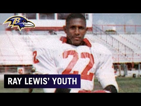 Ray Lewis Looks Back At His High School Football Days | Baltimore Ravens