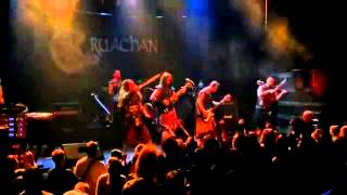 Cruachan Live - The Morrigans Call and I Am Warrior in Minsk, Belarus 16 03 2012