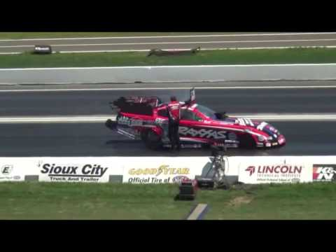 John Force Racing Crashes | Ashley Force, Courtney Force, John Force | Funny Car Crashes