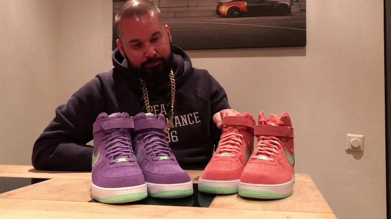 442ab7185b9 Unboxing   Nike AIR Force 1 High Premium iD –